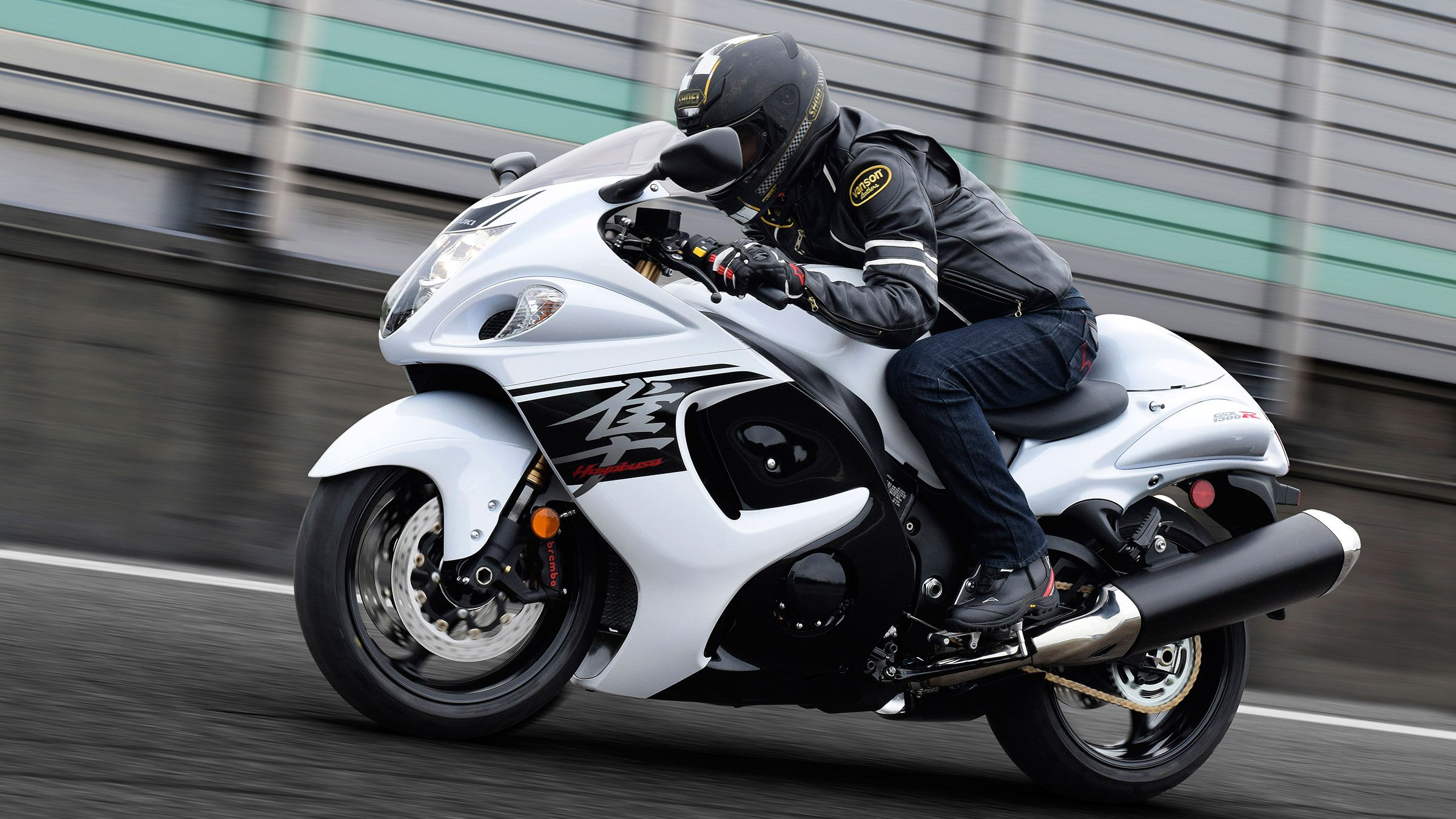 Could This Be The Exhaust Of A New Suzuki Hayabusa