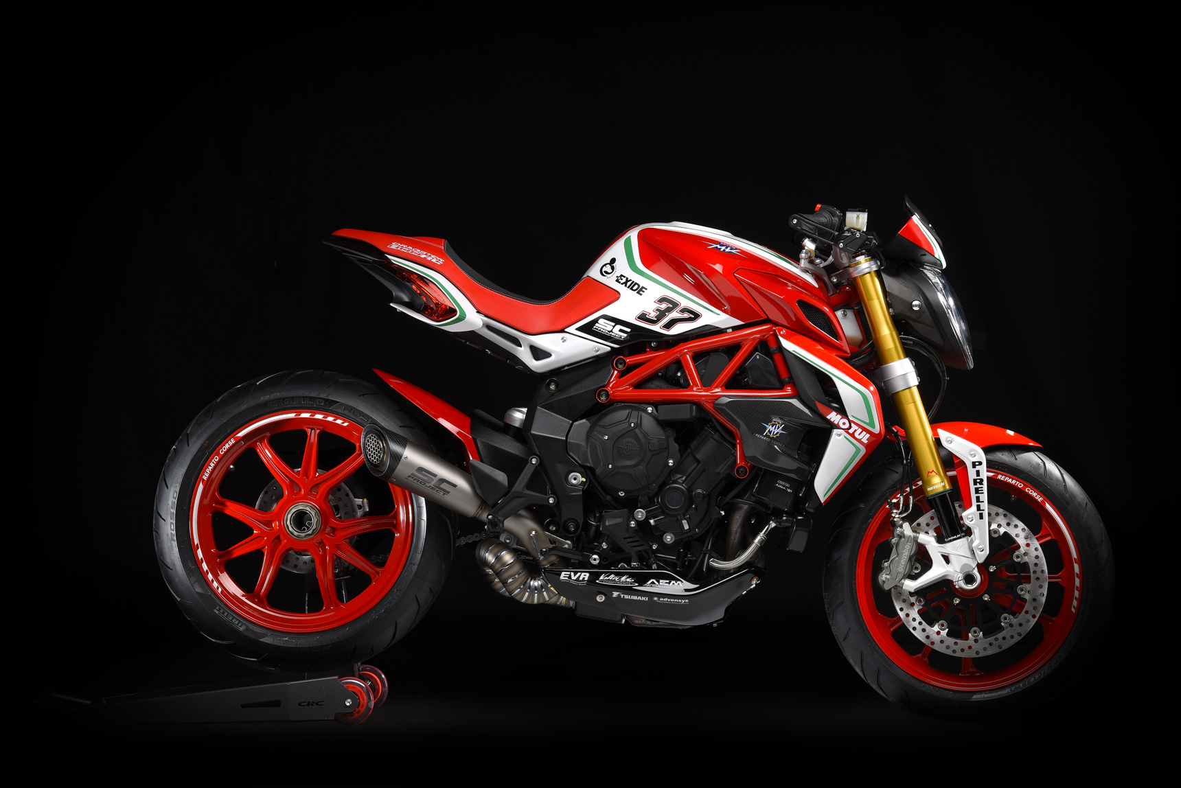 2018 MV Agusta Dragster 800 RC Review • Total Motorcycle