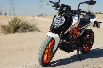 KTM 390 DUKE in UAE