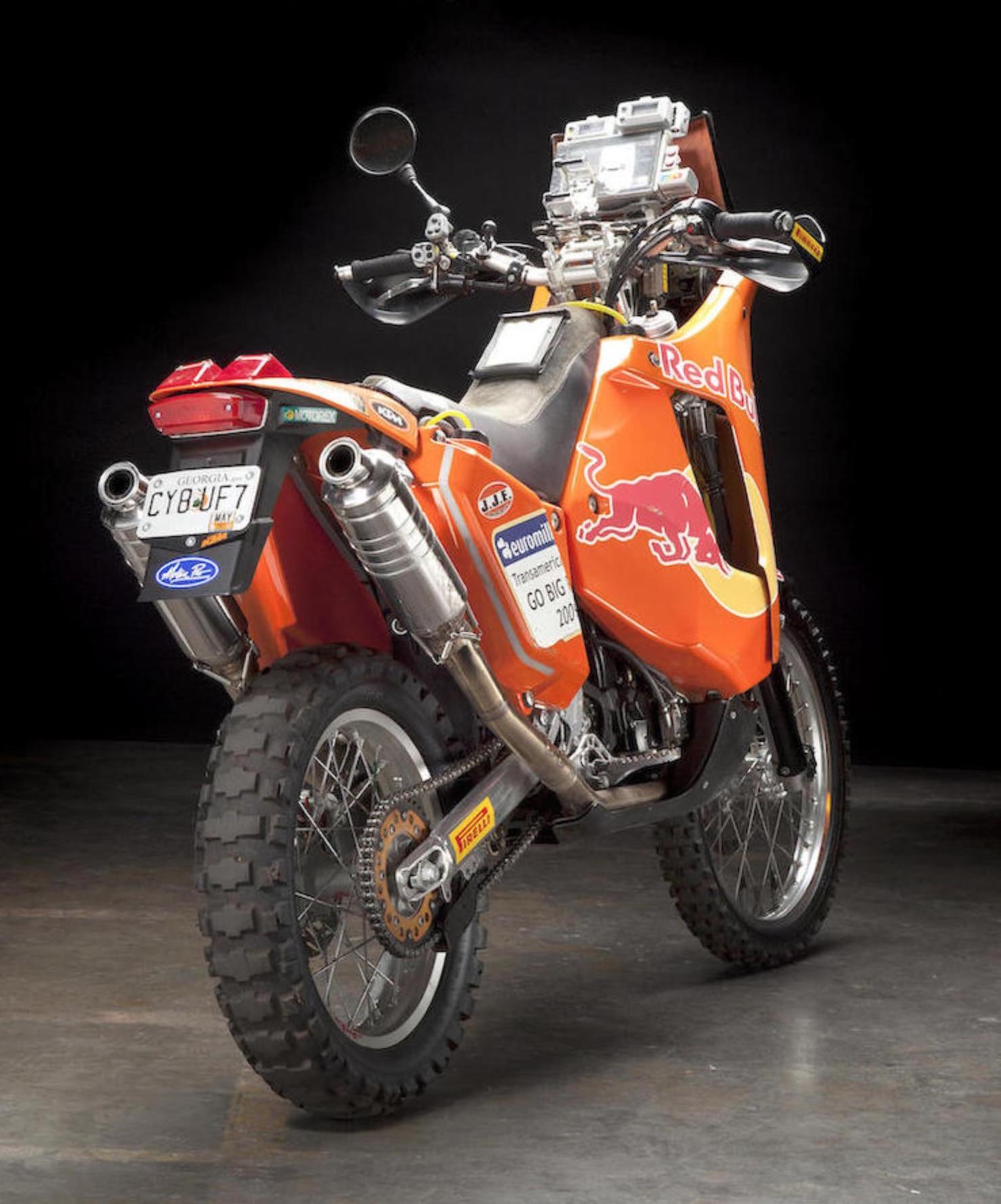 BMW KTM Dakar Dubai UAE