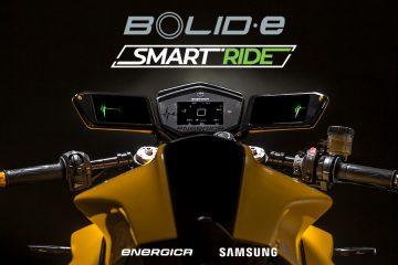 Samsung Energica Bolid-E Concept Dubai UAE