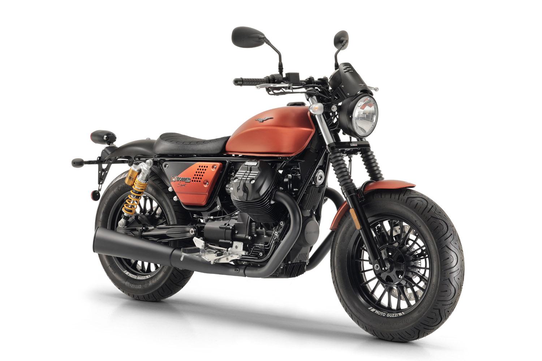 Moto Guzzi V9 Bobber Seat Height