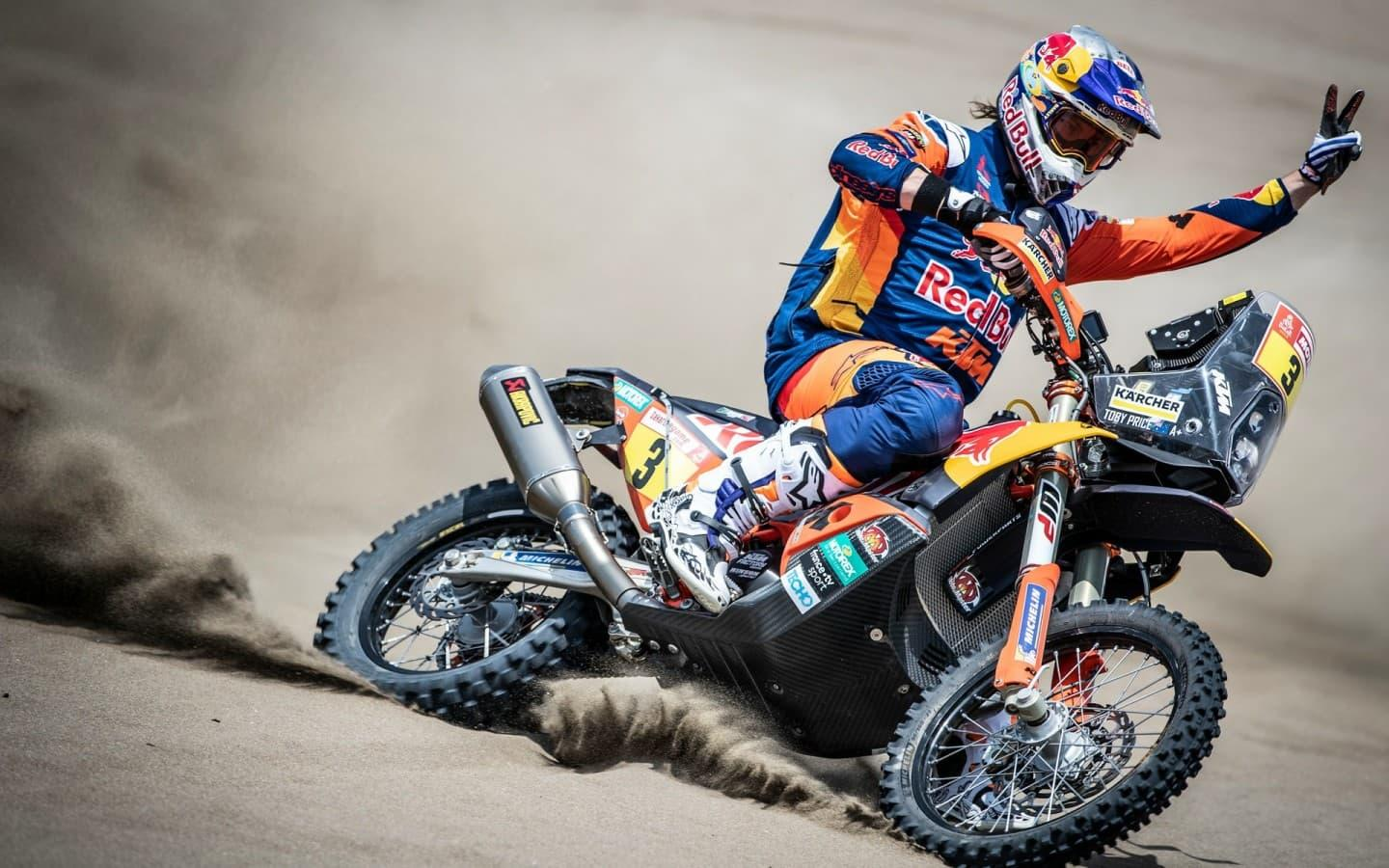 Toby Price 2019 Dakar Rally Champion